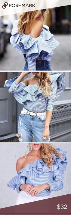 🎊🎊It's Hot🎊🎊💘 Very nice and effortless top so cute paired with some heels the perfect outfit for any occasion. Tops