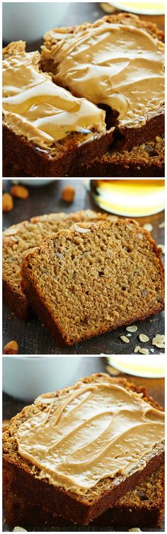 Moist and crumbly honey walnut banana bread best served warm peanut butter honey banana bread banana recipessnacks recipeshealthy forumfinder Image collections