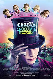 Charlie and the Chocolate Factory- if I was a kid when I first saw this, would it be my favorite one? That is the question.
