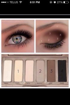The Perfect Natural Brown Look For Blue-green Eyed People