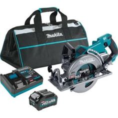 Milwaukee M18 FUEL 18-Volt 7-1/4 in. Lithium-Ion Cordless Rear Handle Circular Saw Kit with 12.0 Ah Battery and Rapid Charger-2830-21HD - The Home Depot Cordless Circular Saw, Milwaukee M18, Seal Design, Electronic Recycling, Led Work Light, Battery Sizes, Makita, The 4, High Speed