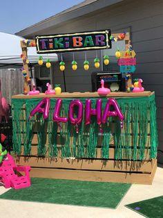Pineapple & Flamingo Luau Birthday Party Ideas | Photo 1 of 19 | Catch My Party