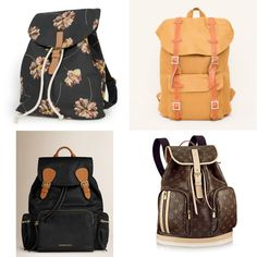 nice things springfield burberry louis vuitton backpacks