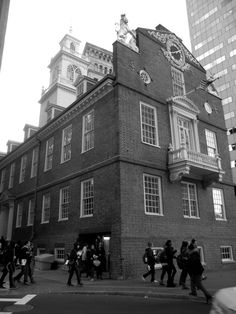 Boston State House, Quincy Market