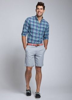 colors to wear with grey shorts - Google Search
