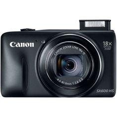 Canon PowerShot SX600 HS 16MP Digital Camera (Black) #canon #electronics