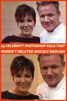 Celebs Discover 25 Celebrity Photoshop Fails That Werent Deleted Quickly Enough Celebrity Photoshop Fails, Photoshop Celebrities, Funny Photoshop, Stupid Funny Memes, Funny Relatable Memes, Hilarious, Funny Videos For Kids, Funny Short Videos, Eye Tricks