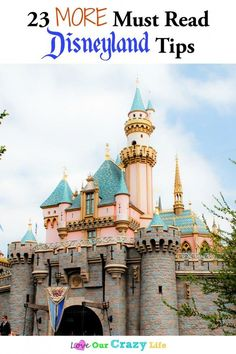 23 MORE Must Read Disneyland Tips for your vacation.   Disneyland | Vacation | Family Travel | Disney Tips |