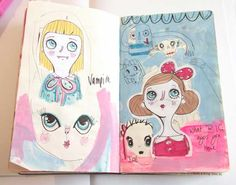 Pencils and Fireflies: Artist Sketchbooks Show and Tell