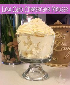 This has got to be THE easiest low carb dessert out there. It takes only 2 ingre., has got to be THE easiest low carb dessert out there. It takes only 2 ingredients and less than 5 minutes to whip up. Sugar Free Pudding, Sugar Free Jello, Sugar Free Cheesecake, Low Carb Cheesecake, Sugar Free Desserts, Dessert Recipes, Cheesecake Pudding, Jello Pudding Desserts, Keto Pudding