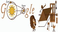 Google doodle celebrates 340th anniversary of Danish Scientist Olaus Roemer