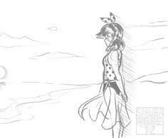 marinette on the beach - pg01
