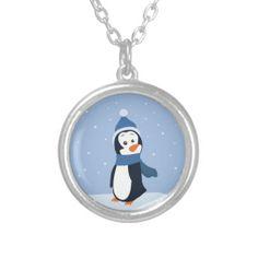 #penguin #winter #snow #animal #necklace