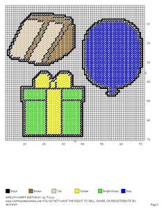 Birthday Wreath Accessories