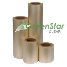 GreenStar Layflat Clear Transfer Tape - High Tack - Assorted Widths