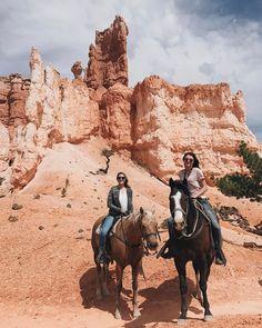 Horseback ride through Bryce Canyon National Park