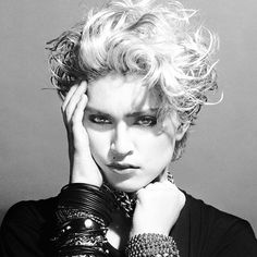 Madonna album cover by Gary Heery
