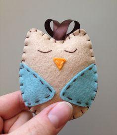 Hey, I found this really awesome Etsy listing at http://www.etsy.com/listing/121191764/felt-owl-ornament-owl-nursery-decor-owl