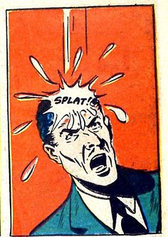 Splat! #vintagecomics #comics - Carefully selected by @Gorgonia www.gorgonia.it