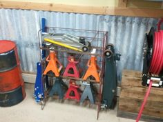 Garage Storage Ideas | Jack Stand Storage Ideas - The Garage Journal Board