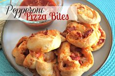 Week 3: Pepperoni Pizza Bites - Literally Inspired