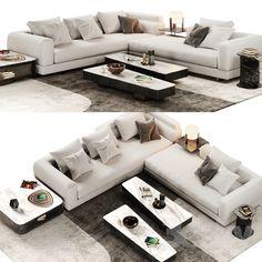 модели: Диваны - Minotti Alexander Sofa Opcion A Sofa Chair, Couch, Outdoor Furniture, Outdoor Decor, Interior, 3d, Design, Home Decor, Models
