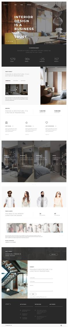 LOAY`L is carefully designed set of more than 160 pre-built components of a unique #interior #design #website bootstrap theme that allows you to create your own beautiful and convenient website download now➩ https://themeforest.net/item/loayl-multipurpose-html-with-page-builder/17311097?ref=Datasata