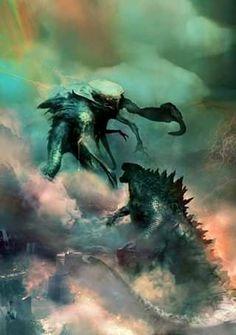 All Godzilla Monsters, Cool Monsters, Classic Monsters, Aliens, Godzilla Franchise, Rukia Bleach, King Kong Vs Godzilla, Monster Board, Wolf Silhouette