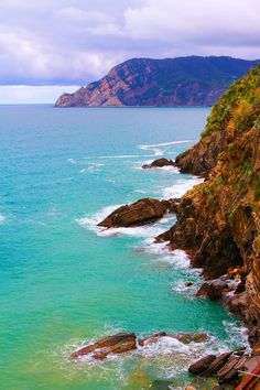 Cliffs of Vernazza