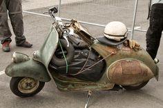 The Scooterist: Vespa Rat style