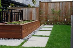 This is where I got the idea for our raised beds