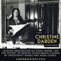 Christine Darden (born September 10, 1942) is an American mathematician, data analyst, and aeronautical engineer. Darden is one of the women featured in the book Hidden Figures by Margo Le Shetterly (2016). Darden graduated valedictorian from Allen High Schoolin North Carolina. She graduated from Hampton Institute in 1962 with a B.S. degree in mathematics, a M.S. degree from Virginia State University in 1967 and 1983, she earned a Ph.D. in engineering from George Washington University