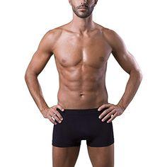 43edb9d631 Dr.Walt Boxer Uomo Aderente Prodotto con Filati Tecnici Sportivi Senza  Cuciture Superconfortevole Pelle Sempre