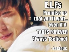 Ever Lasting Friends.. <3 Leeteuk is  such a loving and caring leader for Super Junior. Such a beautiful person.