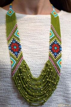 I'm pinning this because of the idea of the patterned bead weaving on both sides. I wonder if I could do a modified bargello weave. I think it would be pretty Seed Bead Jewelry, Bead Jewellery, Beaded Jewelry, Handmade Jewelry, Seed Beads, Bracelet Patterns, Beading Patterns, Beading Tutorials, Beaded Earrings
