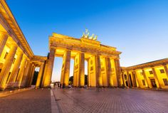 Berlin's Brandenburg Gate Berlin's most iconic structure is loosely modelled on the Acropolis