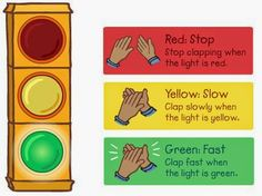 IWB Music: Mr. Rogers' Stop Light (Tempo)