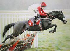DINERALES PRINT - arte de edición limitada de carreras de caballos de Denise Finney