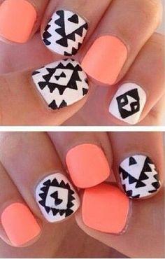 native american nail designs - Google Search