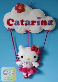 hello kitty bailarina MOLDES EM FELTRO - Buscar con Google