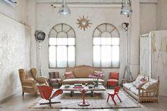 Magical Bohemian Style Loft in Madrid