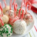 Best cake ball idea yet!! Christmas Candy Cane!!!