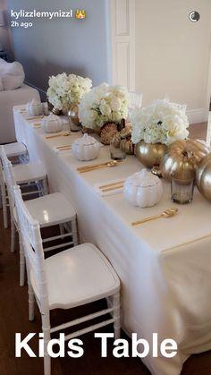 Kids Table Minimalist Elegant Design