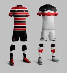 Camisas do Santa Cruz FC 2016 Nike Paulo Lima
