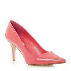 DUNE LADIES ALINA - Pointed Toe Mid Heel Court Shoe - fuschia | Dune Shoes Online