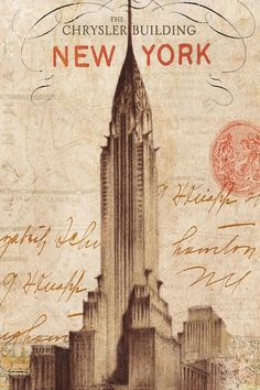 iCanvas Letter from New York