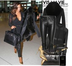 """Kim Kardashian"" by monmondefou on Polyvore"