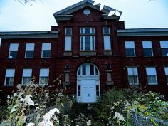 Clay Street school in Kane, Pennsylvania. Supposably one of the most haunted places in PA.