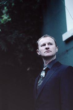 Mark Gatiss as Mycroft.