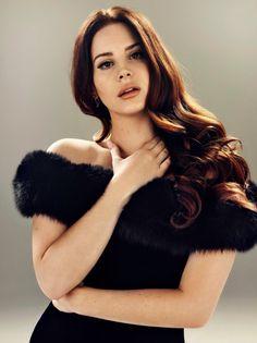 Lana Del Rey for Billboard's Power 100 magazine 2015 shot by Joe Pugliese